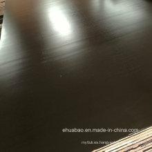 21mm Construcción Madera contrachapada Álamo Núcleo Brown Película Finger Joint Grade