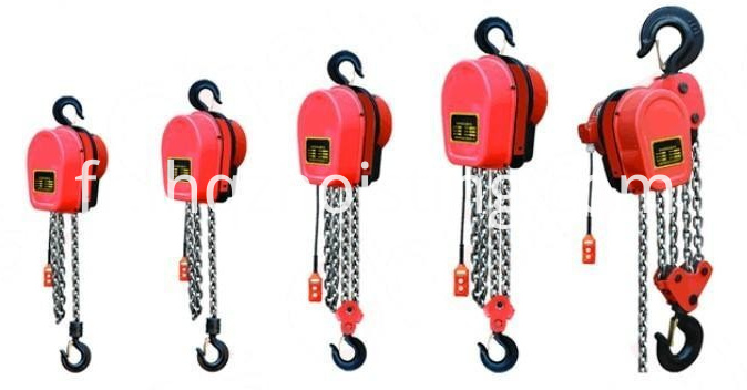 DHS chain electric hoist