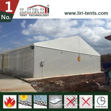 Le toit blanc de murs de sandwich couvre la grande tente en aluminium pour des ventes chaudes
