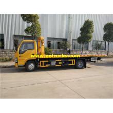 5ton ISUZU Flatbed Towing Vehicles