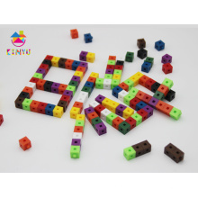 Centimètre en plastique reliant des cubes pour l'éducation