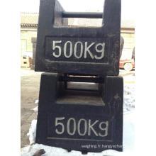 500 kg de poids