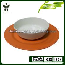 Набор столовой посуды из бамбука