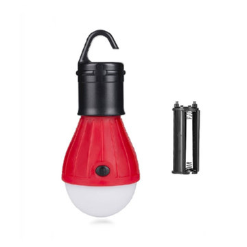 Portable Lantern Mini Tent Light  Waterproof Hanging Hook Camping Emergency Outdoor Led Lamp