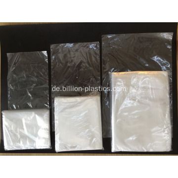 Kunststoffverpackung Lay Flat Open Top Poly Bag