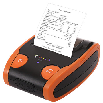 Robuster Bluetooth-Handheld-Thermodrucker mit 58-mm-Etikett