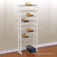 10 tier plastic shoe rack