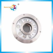 9W haute qualité 60mm fil femelle RGB LED Fountain Light