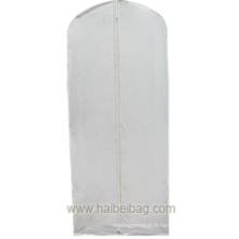 Couvercle de mariée blanc PEVA de luxe (HBGA-027)