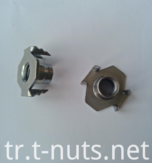 Stainless steel The claw Jagged T Nuts