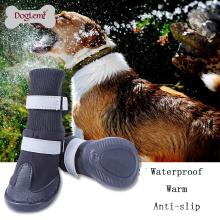 Melhor Venda de Alta Qualidade Durável Eco-friendly sapatos para cães à prova d 'água