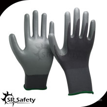 SRSAFETY 15G Seamless smooth surface Nylon nitrile coated glove work