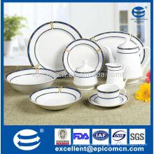 simple & elegant home ceramic tableware made in China