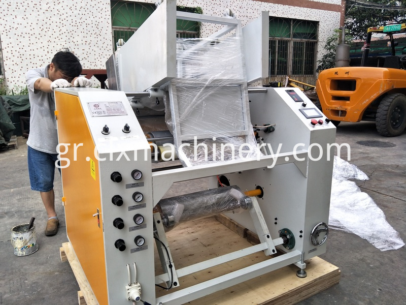 auto stretch film rewinder