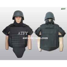 Alta capacidad de absorción de golpes nivel armadura corporal IV.