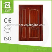 La puerta de madera más vendida del hijo y de la madre 2016 con diseño de lujo