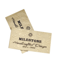 Factory Custom Made Own Brand Trademark Logo Woven Clothing Labels Manufacturer