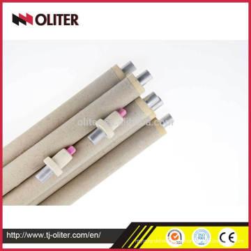 Oliter Marke Einweg schnell bsr Typ pt rh Thermoelement Tipps mit Dreieck-Stecker