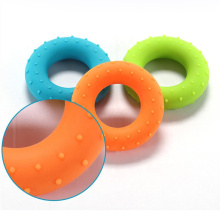 Home fitness equipment hand grip silicone ring grip exerciser training strength rehabilitation device