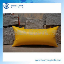Quarry Stone Block Displacement Bag or Cushions