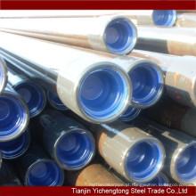 Q235 grau e tubos de revestimento de aço carbono sem costura preço barato