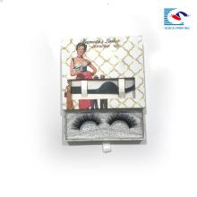 Роскошная коробка качественную бумажную коробку плетки картона с окном
