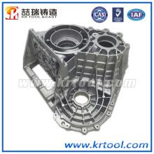 Carcaça de alumínio personalizada da precisão para o veículo
