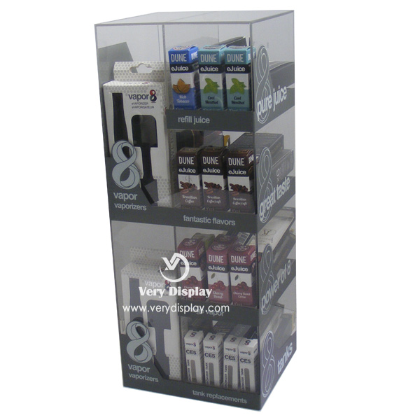 e-cigarette display