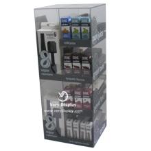 Customized acrylic e-cigarette display shelves