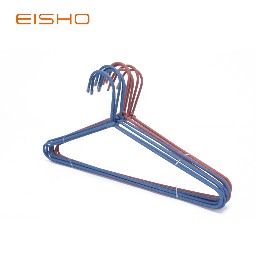 Metal rope shirt hanger