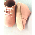 Baby Suede Leather Oxford Shoes Indoor