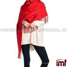 100% Lambswool женщин крупногабаритных шарф шаль (различные цвета и конструкции)