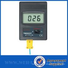 Termómetro digital industrial con el termómetro K-TYPE Termómetro digital Medidor electrónico de temperatura TM902CF