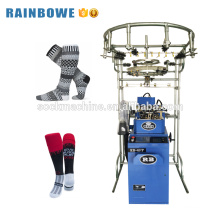 Industry hosiery equipment automatic custom sock knitting machine for making socks