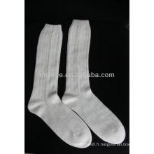 chaussettes tricotées en cachemire pure qualitated
