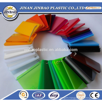 wholesale best quality clear/colored acrylic color changing sheets