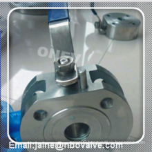 A105 Ultra Thin Type Wafer Ball Valve