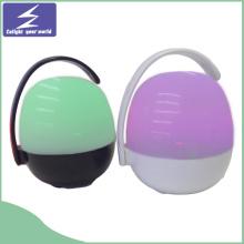 Hochwertiger drahtloser LED-Nachtlicht-beweglicher Bluethooth Lautsprecher