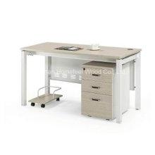 Mesa de escritório de escritório barata com pedestal móvel (HF-DA012)