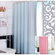 2016 Shanghai DPF 100% Polyester Hotel Shower Curtain