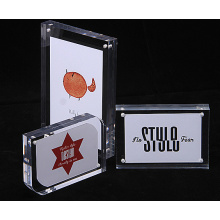 Customized clear acrylic photo frame