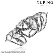 12965 xuping design de luxo de prata cor da jóia por atacado anel de presente para as mulheres