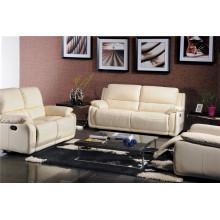 Sofá reclinable eléctrico USA L & P Mechanism Sofa Down Sofa (740 #)