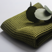 Handtücher mit Waffelmuster aus Mikrofasergewebe