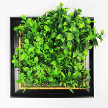 New design customized 25*25cm artificial plants for office decor