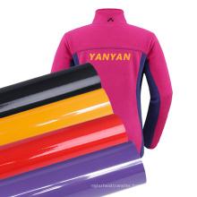 Wholesale Film Soft 60cm Size Glossy non sticky PVC Heat Transfer Vinyl Roll on garments
