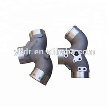 China aluminum alloy foundry supply aluminum sand casting intake manifold as drawing or sample