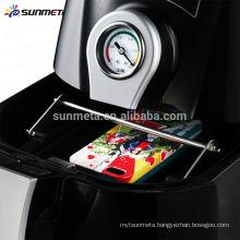 3d mini sublimation heat press vacuum machine heat transfer machine