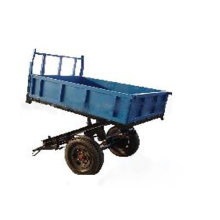 1.5 ton agricultural machinery cargo farm trailer tractor tipper trailer with CE