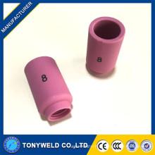 Bons consumíveis bicos de cerâmica tig tip 13N12 13N13